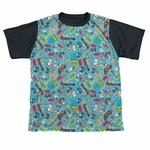 Teen Titans Go Jumble BB Dye Sub Youth T Shirt
