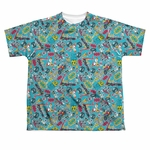 Teen Titans Go Jumble Dye Sub Youth T Shirt