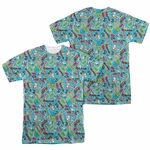 Teen Titans Go Jumble FB Sublimated T Shirt