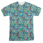 Teen Titans Go Jumble Sublimated T Shirt