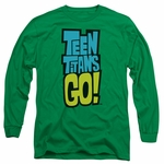 Teen Titans Go Logo Long Sleeve T Shirt