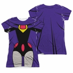 Teen Titans Go Raven Suit FB Sub Juniors T Shirt