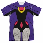 Teen Titans Go Raven Suit Sublimated T Shirt