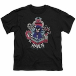 Teen Titans Go Raven Youth T Shirt
