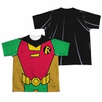 Teen Titans Go Robin Suit FB Dye Sub Youth T Shirt