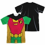 Teen Titans Go Robin Suit FB Sublimated T Shirt
