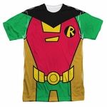 Teen Titans Go Robin Suit Sublimated T Shirt
