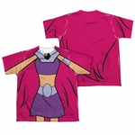 Teen Titans Go Starfire Suit FB Dye Youth T Shirt