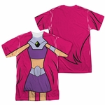 Teen Titans Go Starfire Suit FB Sublimated T Shirt