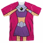 Teen Titans Go Starfire Suit Sublimated T Shirt