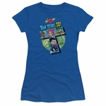 Teen Titans Go T Group Juniors T Shirt