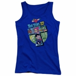 Teen Titans Go T Group Juniors Tank Top