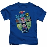 Teen Titans Go T Group Juvenile T Shirt