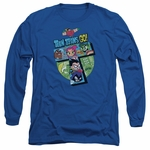Teen Titans Go T Group Long Sleeve T Shirt