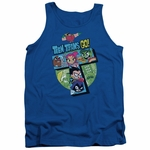 Teen Titans Go T Group Tank Top