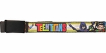 Teen Titans Name Group Mesh Belt