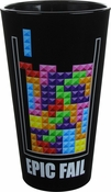Tetris Epic Fail Pint Glass