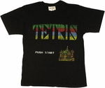 Tetris Menu T Shirt Sheer