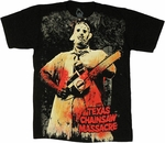 Texas Chainsaw Massacre Bloody Leatherface T Shirt