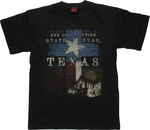 Texas Constitution Black T Shirt
