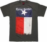 Texas Forever Gray T Shirt
