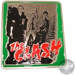 The Clash Group Belt Buckle