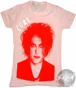 The Cure Face Music Baby Tee