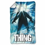 The Thing Poster Fleece Blanket