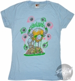 The Used Eyeballs Music Baby Tee