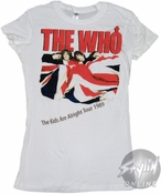 The Who Alright Baby Tee