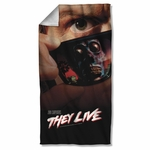They Live Poster Towel