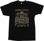 Thin Lizzy Jailbreak T-Shirt Sheer
