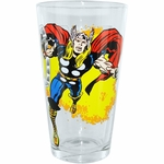 Thor Flame Pint Glass