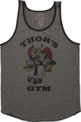 Thor Gym Ringer Tank Top