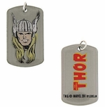 Thor Head Dog Tag