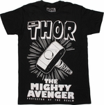 Thor Mighty Avenger T Shirt Sheer