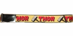Thor Name and the Hammer Mesh Belt