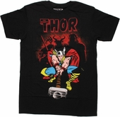 Thor Villain Shadows T Shirt Sheer