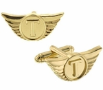 Thor Wings Gold Cufflinks