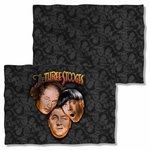 Three Stooges All Over FB Pillow Case