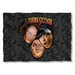 Three Stooges All Over Pillow Case