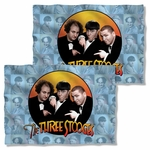 Three Stooges Portraits FB Pillow Case