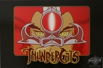 Thunder Cats Name Postcard