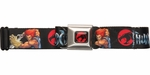 Thundercats Name and Lion-O Seatbelt Belt