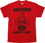 Thundercats Panthro Don't Care T Shirt