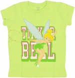 Tinkerbell Wand Youth T Shirt