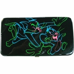 Tom and Jerry Neon Outline Clutch Wallet