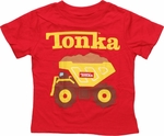 Tonka Dump Truck Toddler T Shirt