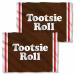 Tootsie Roll Wrapper FB Pillow Case