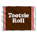 Tootsie Roll Wrapper Pillow Case
